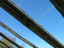 Взгляд высокого неба осени Стоковое фото RF
