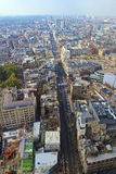 Взгляд высокого угла улицы Оксфорда Стоковые Фотографии RF