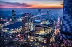 Взгляд в Варшаве Стоковое Фото
