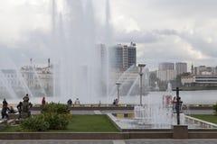 Взгляд в Казани, Российская Федерация улицы Стоковое фото RF