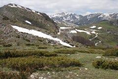 Взгляд в национальном парке Mavrovo Стоковые Фотографии RF