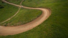 Взгляд гонки сверху Стоковая Фотография RF