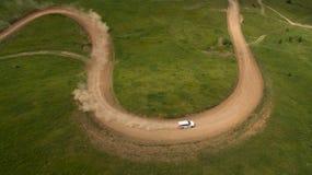 Взгляд гонки сверху Стоковое фото RF
