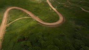 Взгляд гонки сверху Стоковая Фотография