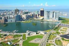 Город Макао стоковые изображения