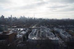 Взгляд горизонта Торонто от Касы Loma Стоковая Фотография