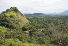 Взгляд горных пиков Центральный Цейлон стоковое фото rf