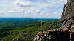 Взгляд горных склонов Стоковое фото RF