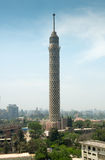 Взгляд города башни Каира Стоковые Изображения