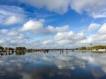 Взгляд города Бордо Стоковое Фото