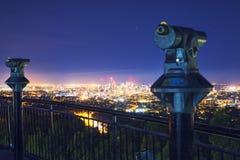 Взгляд города Брисбена от простофили-tha держателя Стоковое Изображение