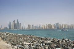 Взгляд города Дубай Стоковые Фотографии RF