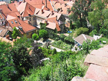 Взгляд города Любляны Стоковое Фото