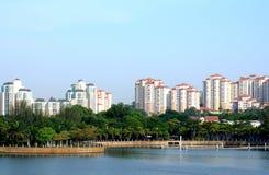 Взгляд города Малайзии Стоковое Изображение