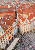 Взгляд города Праги Стоковое фото RF