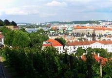Взгляд города Праги Стоковые Фото