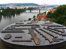 Взгляд города Праги Стоковые Фотографии RF