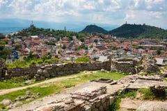 Взгляд города Пловдива, Болгарии Стоковые Изображения