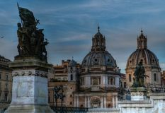 Взгляд города Рима Стоковое фото RF
