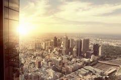 взгляд города самомоднейший стоковое фото rf