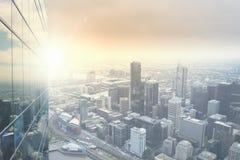 взгляд города самомоднейший стоковые изображения