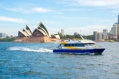 Взгляд города Сидней стоковая фотография