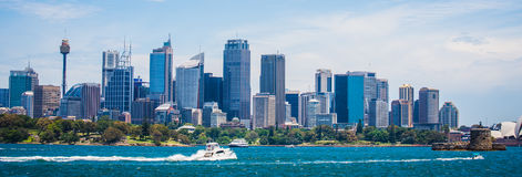 Взгляд города Сидней стоковое изображение rf