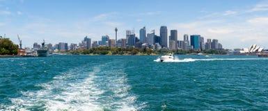 Взгляд города Сидней стоковые изображения