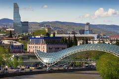 Взгляд города Тбилиси Стоковая Фотография