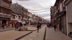 Взгляд города Leh Стоковые Изображения