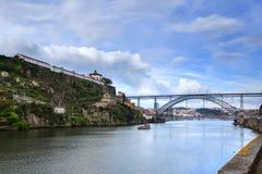 Взгляд города Oporto панорамный Стоковая Фотография