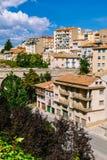 Взгляд городка Теруэль старого, Арагона Стоковое Изображение RF