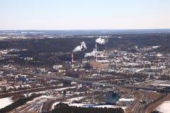 Взгляд городка Стоковая Фотография RF