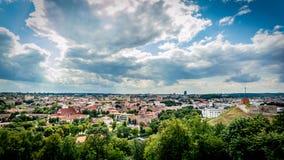Взгляд городка Стоковые Фотографии RF