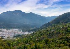 Взгляд городка Cazorla Стоковое Изображение