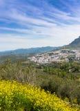 Взгляд городка Cazorla Стоковое Фото