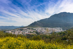 Взгляд городка Cazorla Стоковая Фотография RF