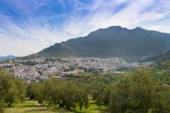 Взгляд городка Cazorla Стоковое Изображение RF