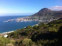 Взгляд городка Simon, Кейптауна, Южной Африки стоковое изображение