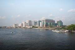 Взгляд городского пейзажа Бангкока Стоковая Фотография RF