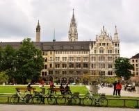 Взгляд городского пейзажа Мюнхена Стоковые Фотографии RF