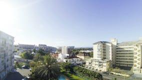 Взгляд городского пейзажа на Кейптауне видеоматериал