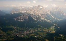 взгляд горы Стоковые Изображения RF