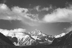 взгляд горы стоковая фотография rf
