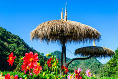 Взгляд горы angkhang doi, Чиангмая, Таиланда Стоковые Изображения