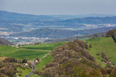 Взгляд горы Wasserflueh, Швейцарии стоковые фотографии rf