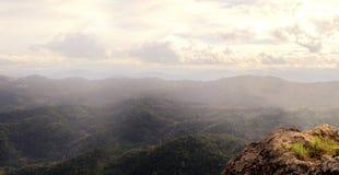 Взгляд гор в Таиланде Стоковая Фотография RF