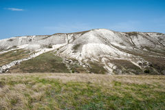 Взгляд гор мела в долине Дона, парк Donskoy Стоковые Фото