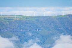Взгляд гор на трассе Pico Ruivo - Encumeada, острове Мадейры, Португалии, Европе Стоковое Изображение