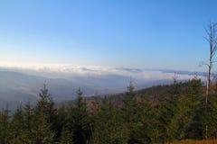 Взгляд гор Стоковое Изображение RF